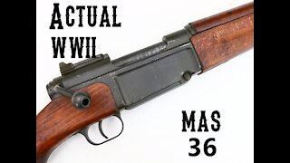 Actual WWII French MAS 36