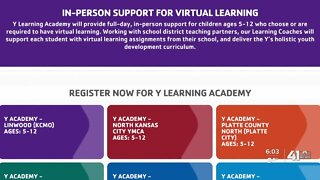 YMCA offers 'COVID learning pods' to help students with virtual learning