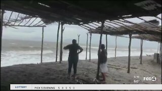 Tropical Storm Iota rages through Honduras