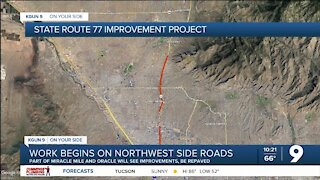 Road improvement project underway along stretch of Miracle Mile