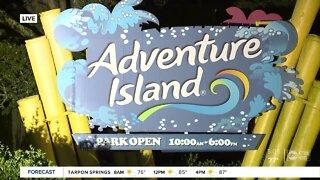 Busch Gardens, Adventure Island now open