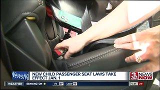 Nebraska child passenger safety law takes effect on January 1