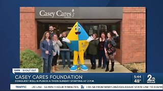 Good Morning from the Casey Cares Foundation!