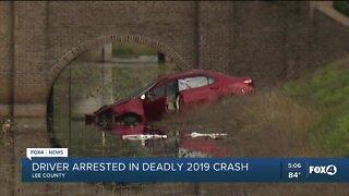 Arrest made in deadly 2019 crash