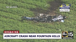 Reported aircraft down near Fountain Hills