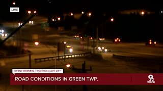 Road conditions in Green Township