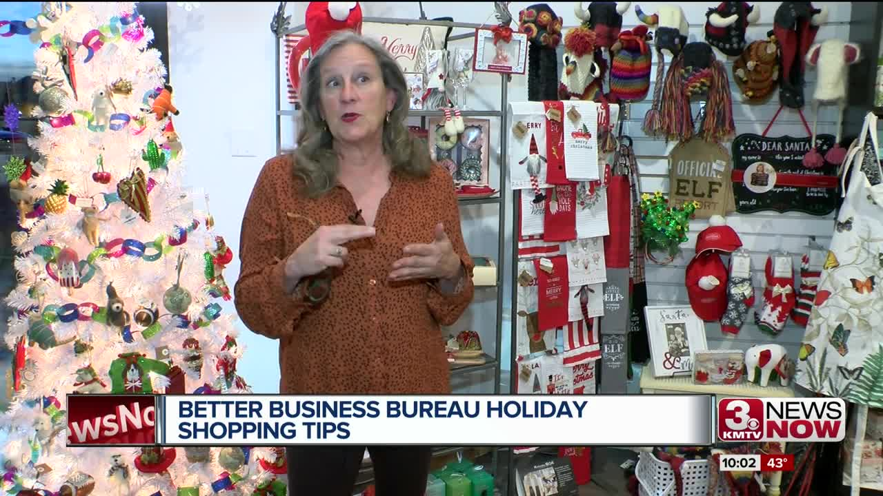 Better Business Bureau Holiday Shopping Tips