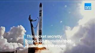 This rocket secretly launched a satellite that could go to the moon