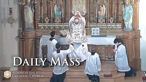 Holy Mass for Monday Oct. 4, 2021