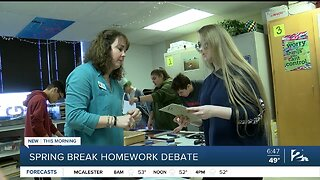 Should students get assignments over spring break?