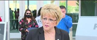 Las Vegas mayor speaks about George Floyd protest