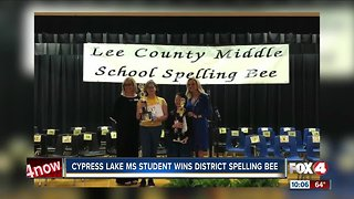 Fort Myers sixth-grader wins Lee County Spelling Bee