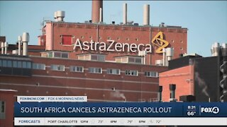 South Africa cancels AstraZenca rollout