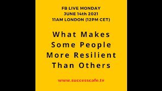 What Makes Some People More Resilient Than Others