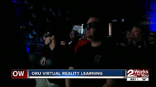 ORU introduces virtual reality to high school teachers as a teaching tool