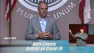Kern County Health Department Coronavirus Update: June 8, 2020