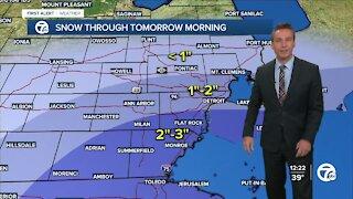 Metro Detroit Forecast: Freeze warnings and snow tonight