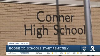 Boone County students start virtual learning today