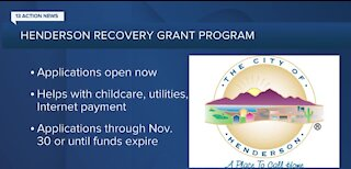 Applications now open for Henderson Recovery Grant Program