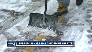 Outdoor workers brace for the bitter Wisconsin cold