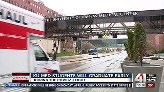 University of Kansas medical students to graduate early, join COVID-19 fight