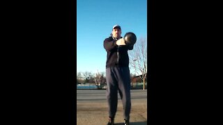 Unconventional kettlebell swing