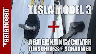 Tesla Model 3 Türschloss Abdeckung Fangband Cover