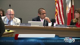 TUSD Board votes on how to fill seat left vacant by Mark Stegeman