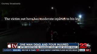 Shooting in Southwest Bakersfield leaves one man dead