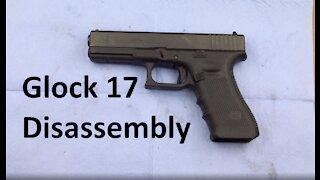 Glock 17 Basic Disassembly