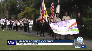 March against violence held in West Palm Beach