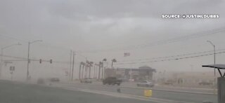 Some in Las Vegas still without power after storm