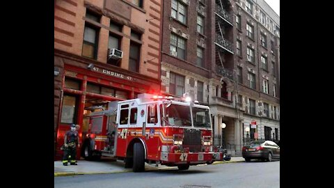 FDNY Firefighters Union President: Keep Working, Ignore Vaccine Mandate