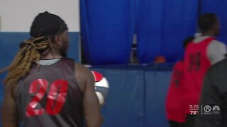 ABA Basketball tryouts
