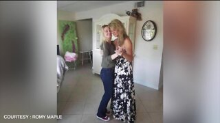 One mother misses her daughters' wedding due to Coronavirus