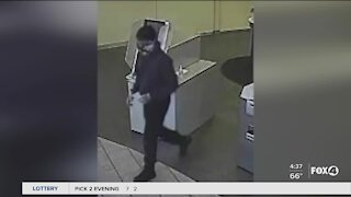 Search for bank robber in Collier County
