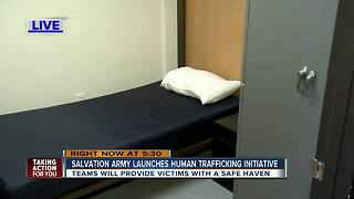 Salvation Army launches initiative to combat human trafficking