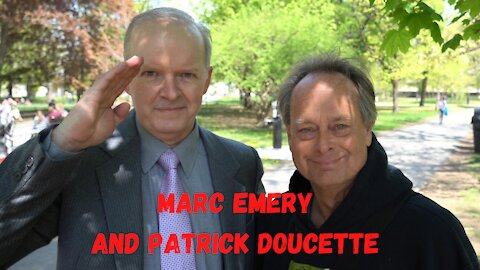 Marc Emery and Patrick Doucette speak out about freedom and liberty at worldwide freedom assembly.