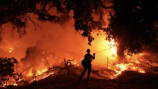 Cave Fire Prompts Mandatory Evacuations In Southern California