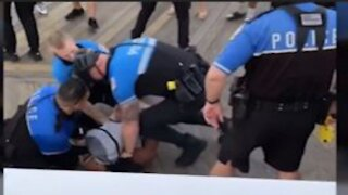 Viral Video-Ocean City arrest