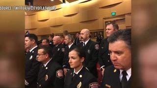 Las Vegas first responders honored by City of Las Vegas