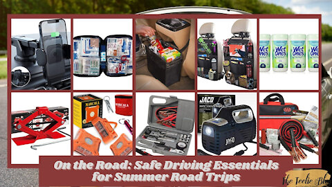 The Teelie Blog | On the Road Safe Driving Essentials for Summer Road Trips | Teelie Turner