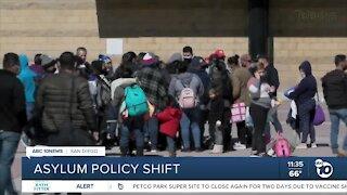 Asylum policy shift