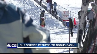 The Bogus Basin bus is back!