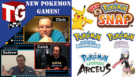 The Geekend- New Pokemon Games on the Horizon!