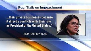 Rep. Rashida Tlaib plans to file impeachment resolution against President Trump