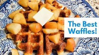 The Best Waffles EVER | Gluten Free & Sugar Free | Easy, Healthy Breakfast