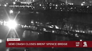 Brent Spence Bridge could be closed for 'several days at best' after fiery overnight crash