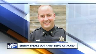 Wyoming County Sheriff speaks out after being attacked