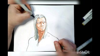 Drawing The Witcher